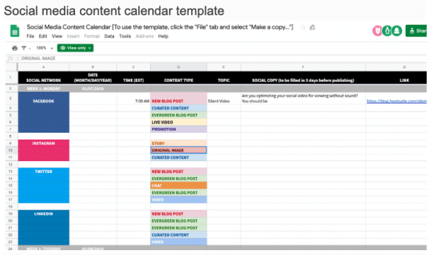 Here Is Why Your Business Needs To Use A Social Media Content Calendar